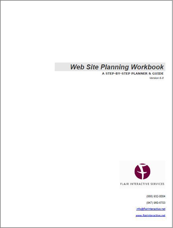 Web Site Planning Workbook